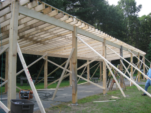 Rifle Range Canopy Construction